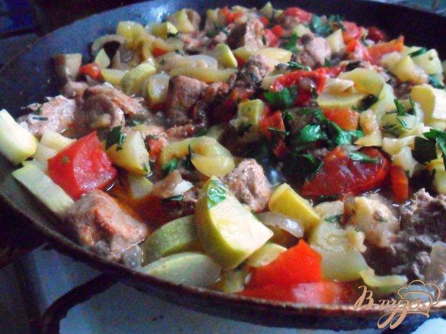 фото рецепта: Овощное рагу со свининой