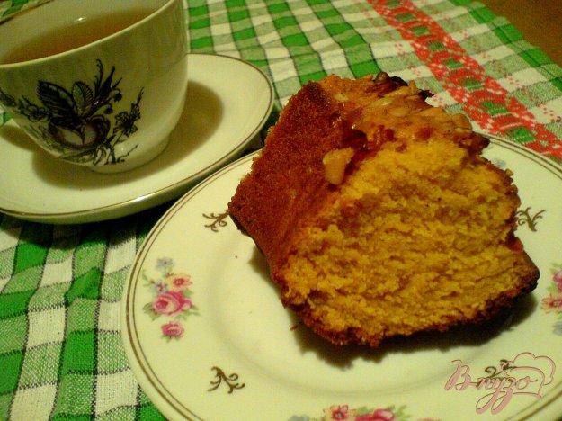 Рецепт Манный кекс с куркумой мёдом
