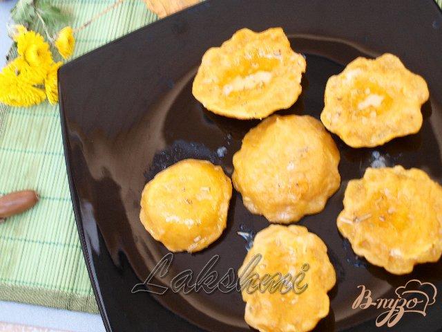 Фото приготовление рецепта: Куоричини из тыквы с сырной начинкой шаг №4