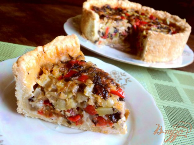 Рецепт Итальянский овощной пирог