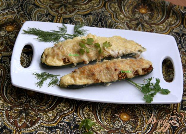 Рецепт Кабачки по-тунисски
