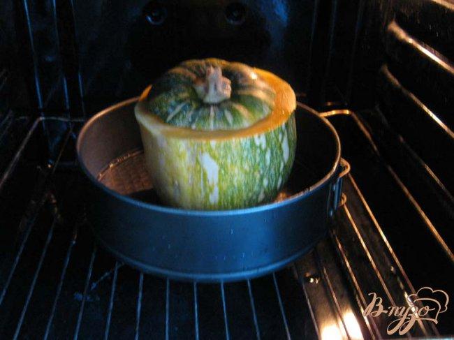 Фото приготовление рецепта: Тыква фаршированная
