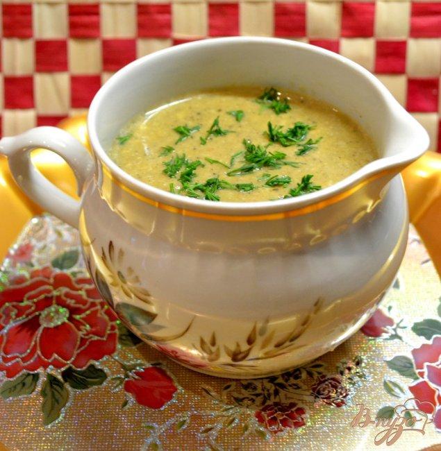 Фото приготовление рецепта: Фаршированные ракушки под грибным соусом. шаг №4