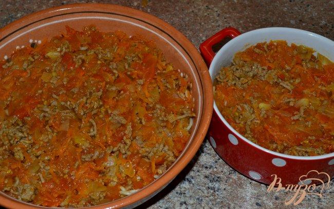 Фото приготовление рецепта: Запеканка из спагетти. шаг №4