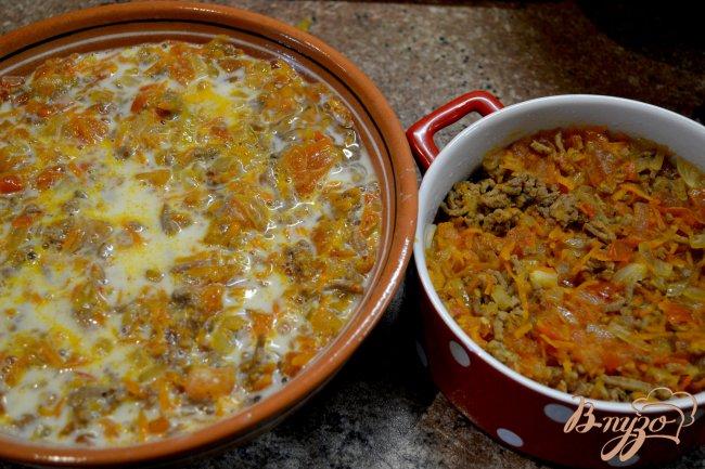 Фото приготовление рецепта: Запеканка из спагетти. шаг №5