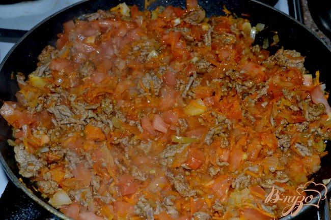 Фото приготовление рецепта: Запеканка из спагетти. шаг №3