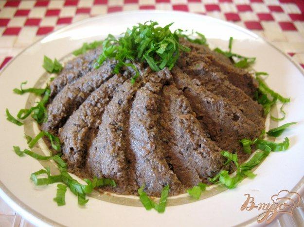 Рецепт Паштет из говяжей печени.