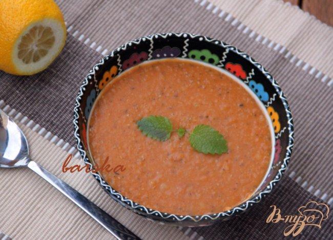 Фото приготовление рецепта: Суп-пюре из чечевицы шаг №4