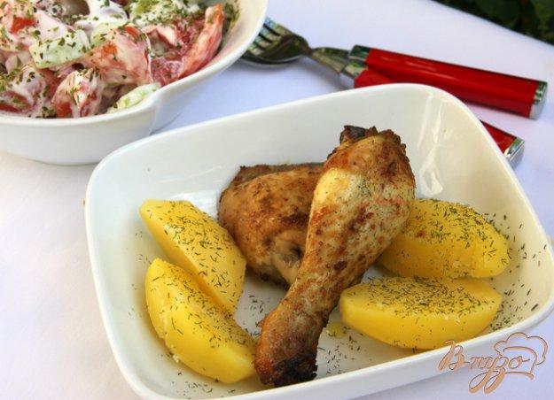 Рецепт Курица по-американски