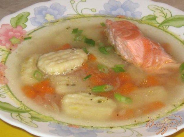 Рецепт Итальянские клецки от шеф-повара Майкла Смита и рыбный суп с ними