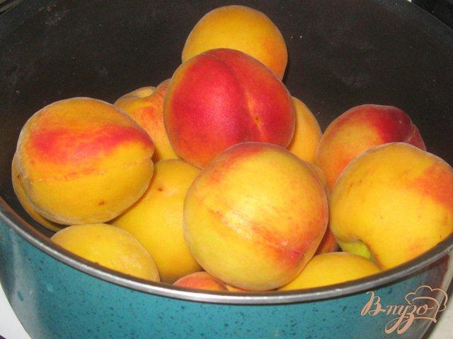 Фото приготовление рецепта: Персики консервированные шаг №1