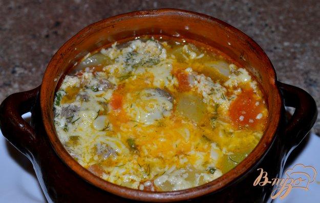 Рецепт Овощное рагу с тефтелями.