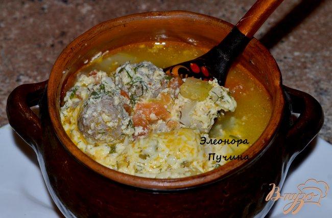 Фото приготовление рецепта: Овощное рагу с тефтелями. шаг №6
