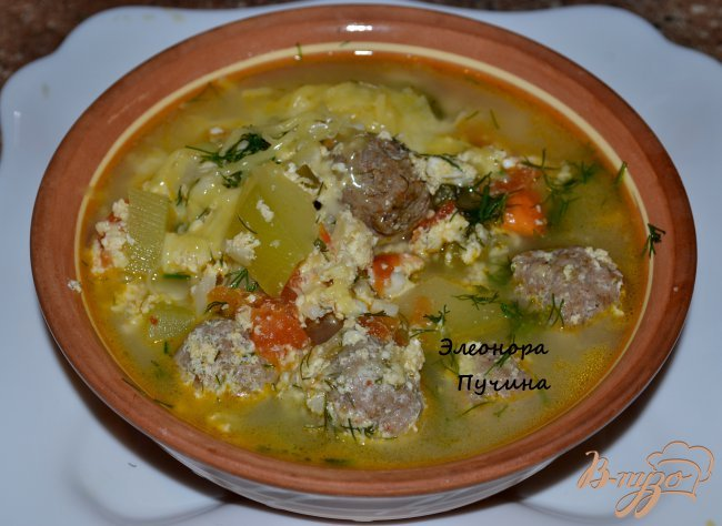 Фото приготовление рецепта: Овощное рагу с тефтелями. шаг №7