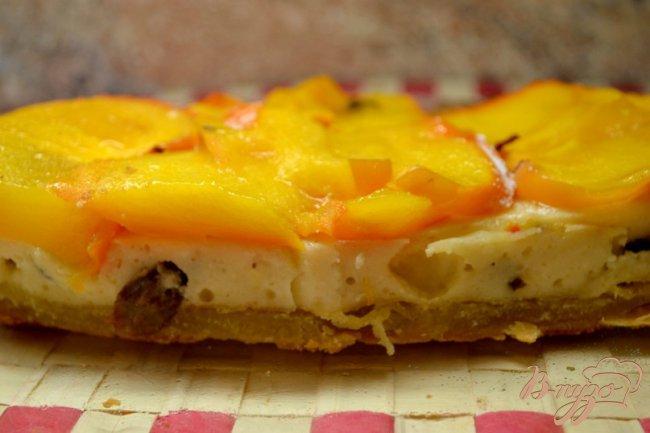 Фото приготовление рецепта: Торт с хурмой. шаг №4
