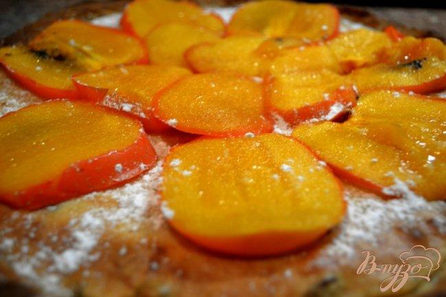 Фото приготовление рецепта: Торт с хурмой. шаг №3