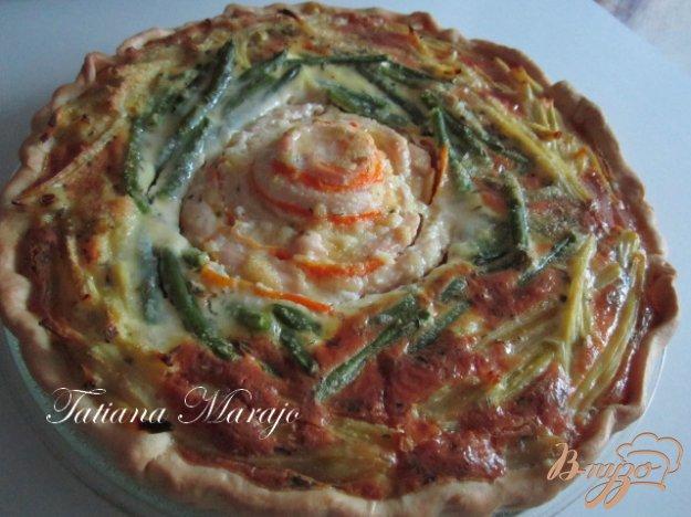Рецепт Пирог с курятиной и стручковой фасолью