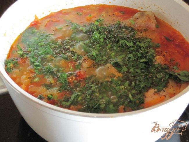 Фото приготовление рецепта: Куриные ножки в овощном соусе. шаг №5