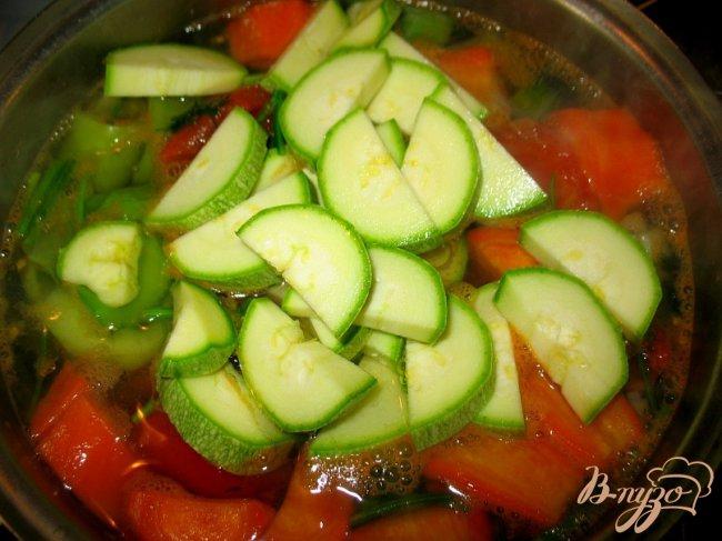 Фото приготовление рецепта: Летний суп. шаг №3