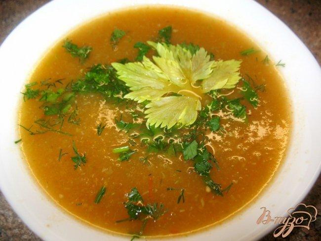Фото приготовление рецепта: Летний суп. шаг №4