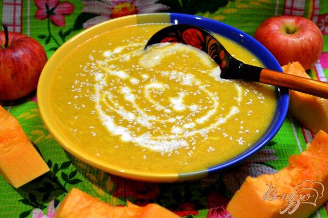 Фото приготовление рецепта: Суп пюре-тыквенный. шаг №2
