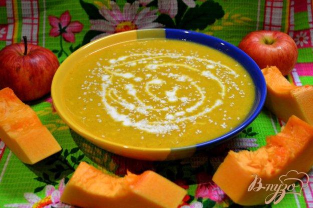 фото рецепта: Суп пюре-тыквенный.
