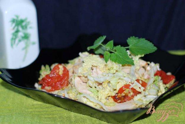 Рецепт Салат с вялеными томатами.