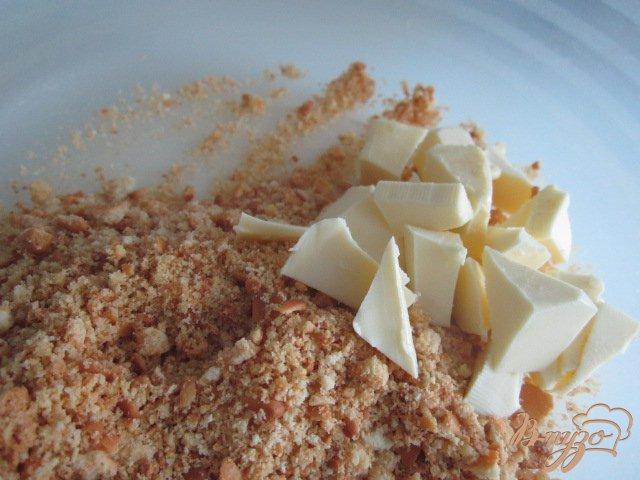 Фото приготовление рецепта: Творожники с персиками.. шаг №4
