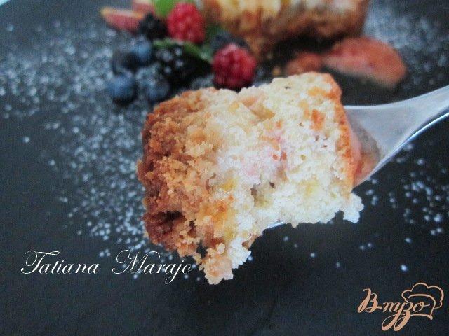 Фото приготовление рецепта: Творожники с персиками.. шаг №9