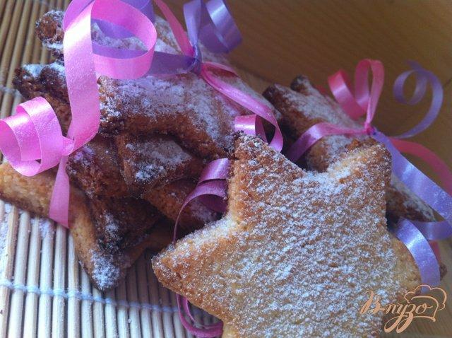 Фото приготовление рецепта: Печенье марципановое шаг №6
