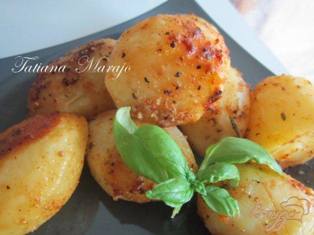 Рецепт Вкусный картофель в микроволновке