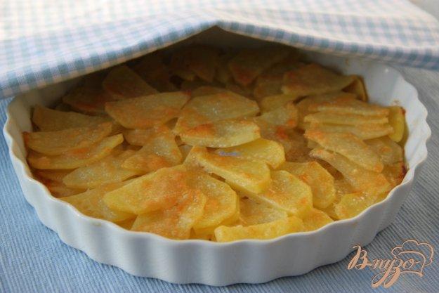 Рецепт Картофель, запечённый с пармезаном