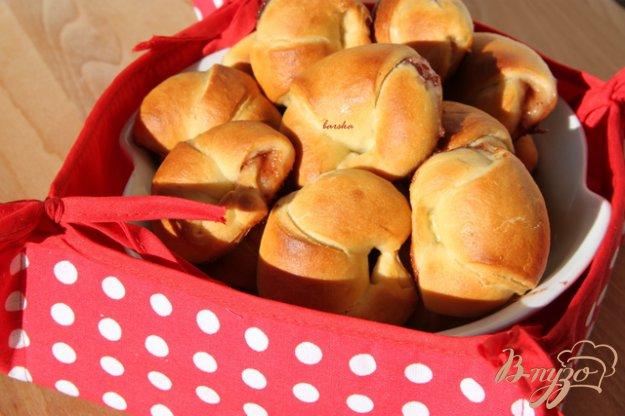Рецепт Творожно-дрожжевое тесто на сыворотке и сладкие рогалики с джемом