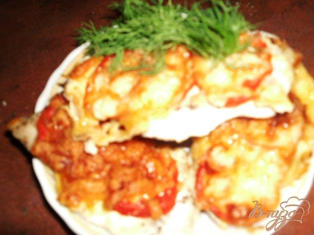 Рецепт Куриное филе под сырной корочкой