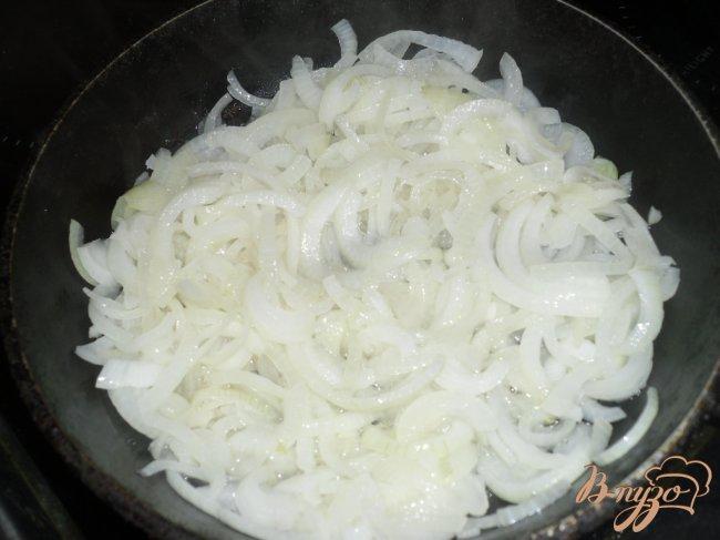 Фото приготовление рецепта: Баклажанная закуска шаг №3