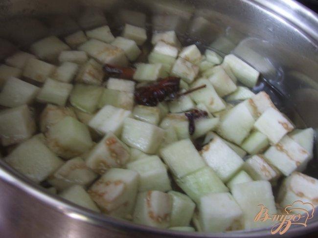 Фото приготовление рецепта: Цукаты из баклажанов шаг №1
