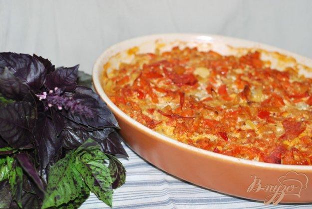 Рецепт Ленивые пельмени в овощном соусе