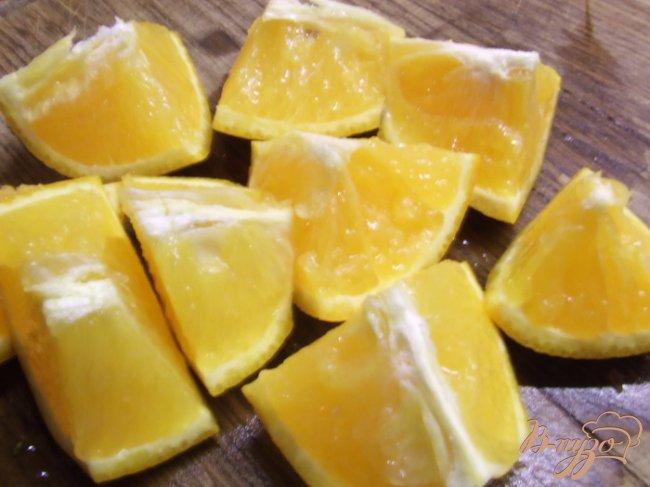 Фото приготовление рецепта: Апельсиновый джем с цедрой шаг №2