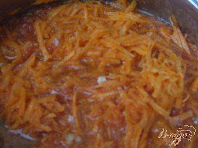 Фото приготовление рецепта: Икра из бурых помидоров и моркови шаг №2