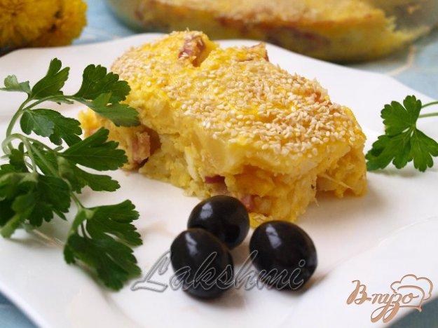 Рецепт Картофельная запеканка по-гречески.