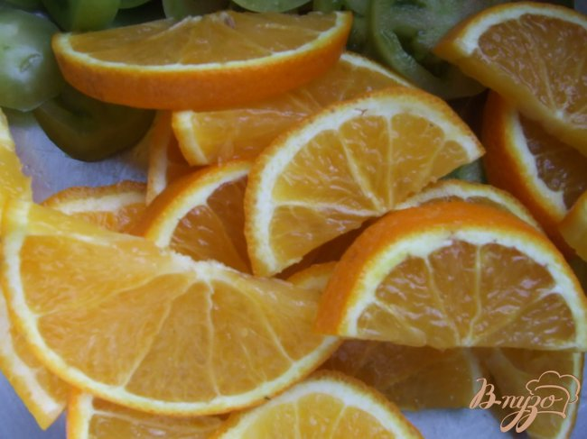 Фото приготовление рецепта: Джем из зеленых помидоров с апельсинами шаг №1