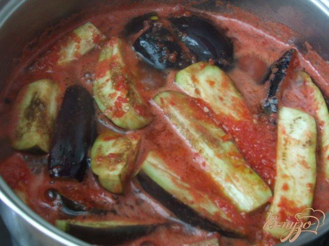Фото приготовление рецепта: Салат из синеньких шаг №2