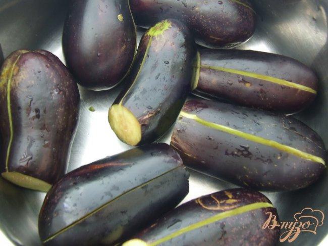 Фото приготовление рецепта: Фаршированные баклажаны шаг №1