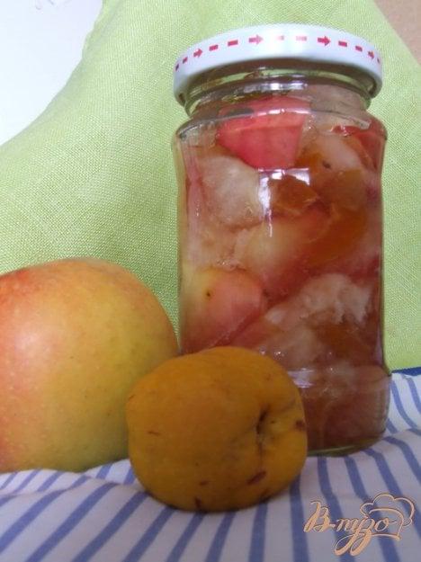 Рецепт Варенье из айвы японской и яблок