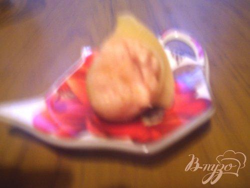 """Лумакони с куриным фаршем, запечёные под соусом """"Бешамель"""""""