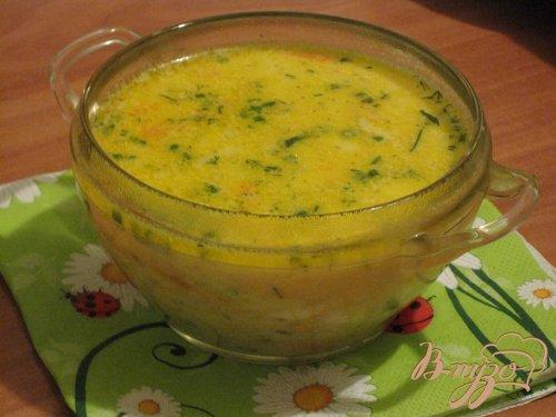 """Легкий суп """" По-домашнему """""""