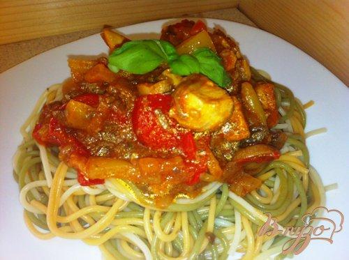 Куриный соус к спагетти
