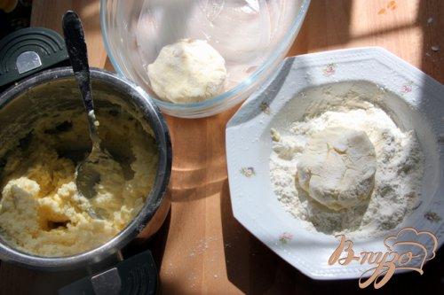 Запечёные картофельно-творожные котлеты