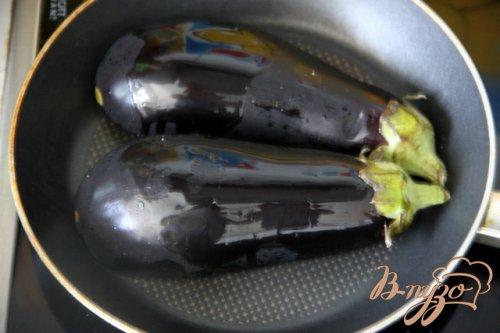 Баклажаны с курино-ореховой  начинкой