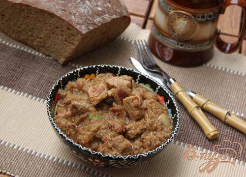 Свинина в хлебно-пивном соусе